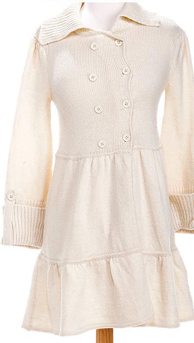 White_Sweater_Dress